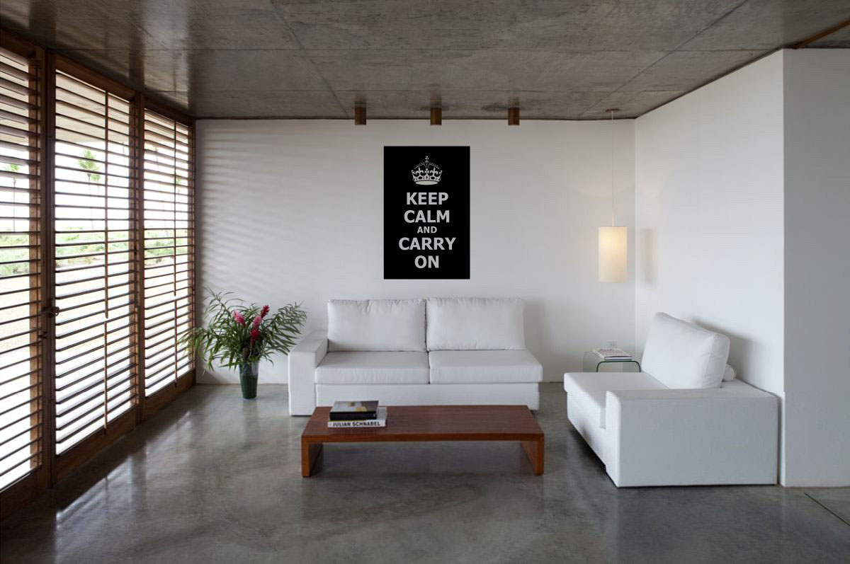 Keep-Calm-And-Carry-On-Wall-Decor